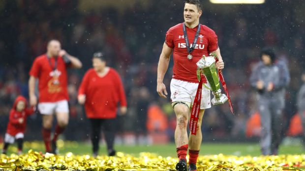 Jonathan Davies. Photograph: Michael Steele/Getty Images)