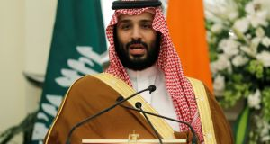 Saudi Arabia's crown prince Mohammed bin Salman:  alleged to have been stripped of some of his  authority. Photograph: Adnan Abidi/Reuters