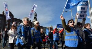 The introduction of a new contract was a key element in settlement proposals put forward last month which led to the suspension of further planned strikes by nurses. Photograph: Alan Betson/The Irish Times/File
