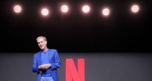 Netflix chief executive Reed Hastings says increased competition in the market is making it more expensive to source content.  Photograph: Adam Rose