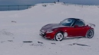 Driving to Europe's northernmost point in a convertible Mazda MX5