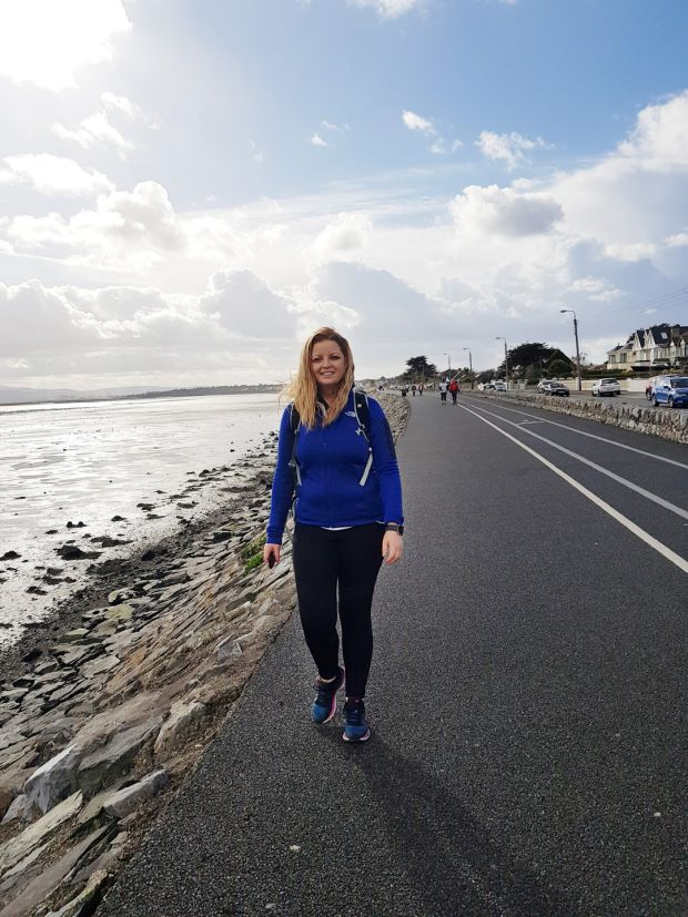 Rachel Flaherty: 'I did it and it felt great. Who would have thought blistered sore feet and achy legs would feel so good.'