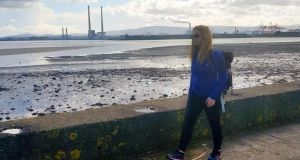 Rachel Flaherty: 'As I set off for the second half of the walk the sun came out and the views across Dublin Bay were spectacular.'