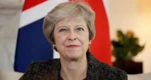 Theresa May faces an uphill battle as Brexit looms. Photograph: Matt Dunham/AFP/Getty Images