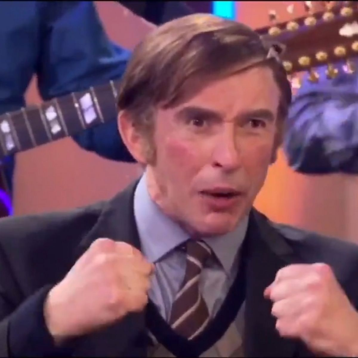 Alan Partridge Singing Come Out Ye Black And Tans Both Awkward Hilarious
