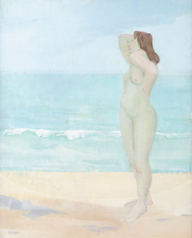 Lot 126: Shore Light and Model by Barbara Warren (€800-€1,200).