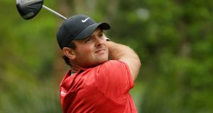 Patrick Reed: remains confident that he can make a strong defence to his Masters title at Augusta. Photograph:  Gregory Shamus/Getty Images)