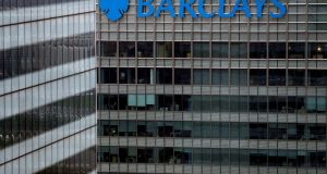 A Barclays bank building in London. As well as calling for a board seat, Edward Bramson wants Barclays to curtail its investment banking arm. Photograph: Stefan Wermuth/Reuters