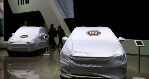 The auto index was boosted by a 5 per cent jump in Fiat Chrysler on Tuesday. Photograph: Denis Balibouse/ Reuters