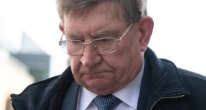 John Gibson (72), of Dún Laoghaire, Dublin, is to be sentenced next month after he was found guilty of indecently assaulting a girl and a boy in Wexford in the 1980s. Photograph: Collins Courts.