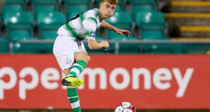 Called up: Brandon Kavanagh of Shamrock Rovers. Photograph: Tommy Dickson/Inpho
