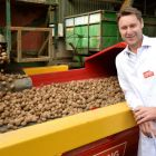 Tayto Snacks Managing director Jeff Swan at the company's facility  near Ashbourne in Co Meath. Photograph: Dara Mac Dónaill