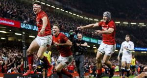 In the UK 6.6 million people watched Wales beat England in the Six Nations. Photograph: Tommy Dickson/Inpho