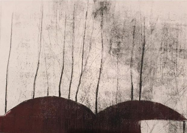 Hilary Kinahan, 'Barn Series #3', Graphic Studio Gallery