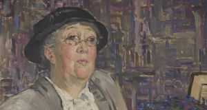 Mary Swanzy, 'Portrait of Gertrude Jekyll', private collection