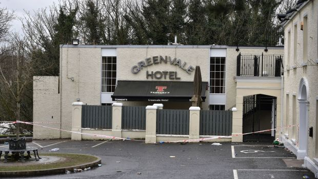 The Greenvale Hotel in Cookstown, Co Tryone. Photograph: Charles McQuillan/Getty Images