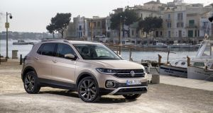 The T-Cross one-litre petrol unit develops either 95hp or 115hp.