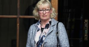 Concepta Anderson has been awarded €63,000 damages from the High Court over negligence in her post-operative care at St James's Hospital in Dublin. Photograph: Collins Courts.