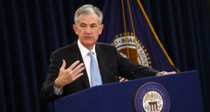 US Federal Reserve chairman Jerome Powell: 'no need to rush for judgment' on interest rates. Photographer: Andrew Harrer/Bloomberg