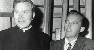 Father Patrick Peyton with Bing Crosby. According to the Guns & Rosaries documentary, the Co Mayo-born priest received CIA funding to help fight communism in Latin America