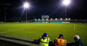 Naas CBS needed extra-time to see off Wicklow Schools at Parnell Park. Photograph: Oisin Keniry/Inpho