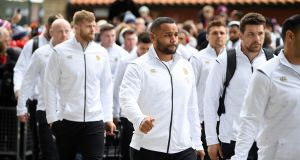 It is understood Ben Te'o and Billy Vunipola apologised to their England teammates for returning late to the hotel. Photograph: Getty Images