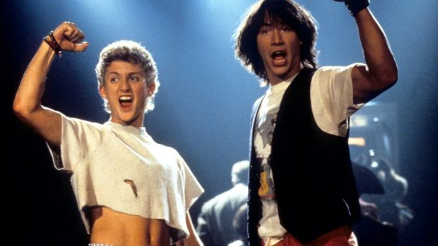 Bill & Ted Face the Music is due in cinemas next year
