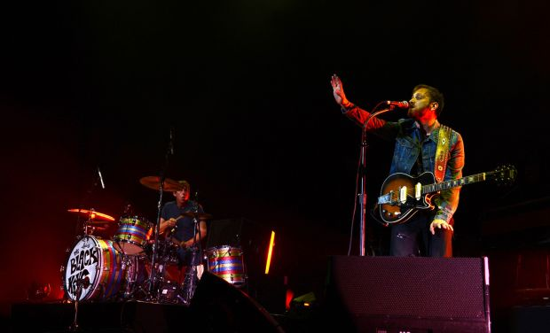 Dan Auerbach and Patrick Carney of The Black Keys perform in Dublin in 2012. Photograph: Brenda Fitzsimons/The Irish Times