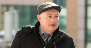 Patrick Quirke (50) at court on Wednesday. Photograph: Collins