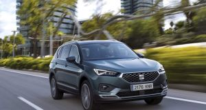 The Seat Tarraco:  it  suffers from that same hesitancy that we've seen  in other VW Group vehicles
