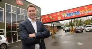 Jeff Swan, managing director of Tayto Snacks, said the investment will release manufacturing bottlenecks. Photograph: Dara Mac Donaill/The Irish Times