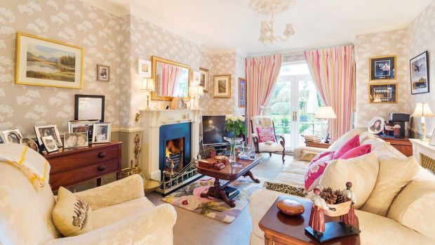 Strathyre, 12 Upper Albert Road, Glenageary, Co Dublin: a lovely house with a country feel.