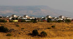 The Jewish settlement of Qatzrin in the Israeli occupied Golan Heights. Photograph: Jalaa Marey/AFP/Getty Images
