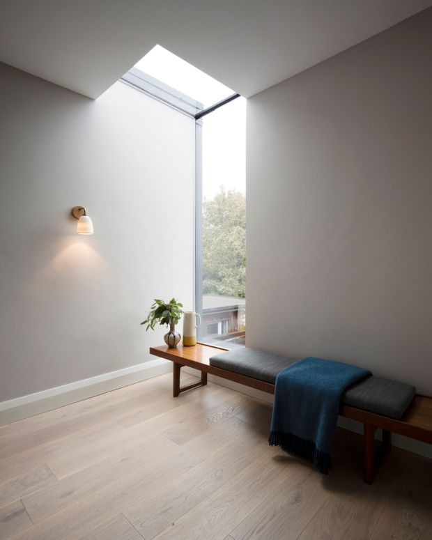 A clever use of windows brings in light from different angles. Photograph: Aisling McCoy