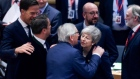EU27 united in short Brexit extension