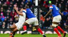 A high tackle warning system has been proposed where players are given post match warnings if they have made upright tackles that result in head contact. . Photograph:  Ashley Western/MB Media/Getty Images