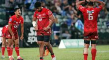 Japan's Sunwolves will be axed from Super Rugby from 2021. Photograph: Getty Images