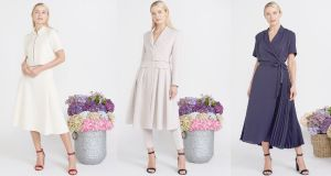 Peter O'Brien for Dunnes: this is the designer's largest spring-summer range for the store