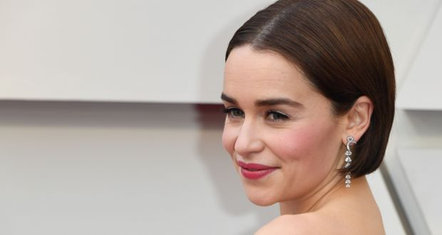 Emilia Clarke: had to have surgery following  bleeds on her brain. Photograph: Mark Ralston/AFP/Getty Images