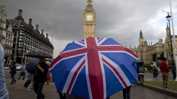 "London, which is in England, which is part of the United Kingdom. ""So what is Britain, then?"" the American woman said, audibly exasperated. I wanted to tell her she isn't the only one. Photograph: Justin Tallis/AFP/Getty Images"