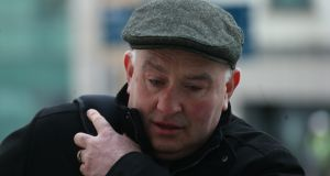 Patrick Quirke (50), of Breanshamore, Co. Tipperary, pictured arriving at court on Friday. Photograph: Collins Courts