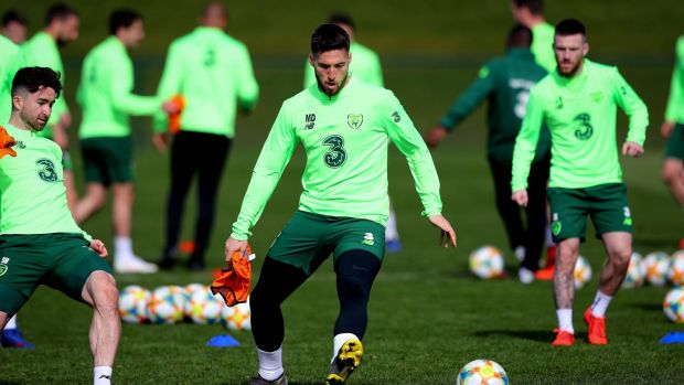 7d4db87d1f3 Matt Doherty has been Ireland s form player in the Premier League.  Photograph  Ryan Byrne