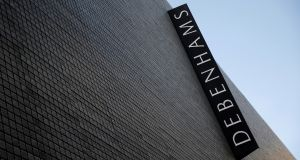 Share price plunge: Debenhams has issued a string of profit warnings. Photograph: Simon Dawson/Reuters
