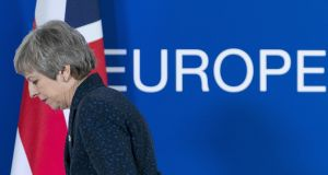 Theresa May's limitations have been cruelly exposed at almost every turn of the Brexit process. Photograph: Jasper Juinen/Bloomberg
