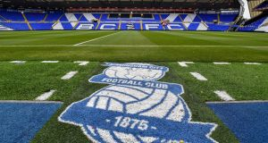 Birmingham City have been docked nine points after breaching financial rules. Photograph: Anthony Devlin/PA