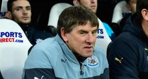 Peter Beardsley has been charged by the Football Association with three counts of using racist language to players. Photograph: Stu Forster/Getty