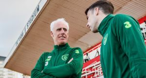 Mick McCarthy has confirmed Séamus Coleman will start against Gibraltar. Photograph: James Crombie/Inpho