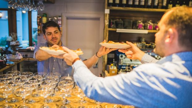 Crawford & Co in Cork City has a grocer selling local produce, and a coffee dock that becomes a spot for whiskey tasting and cheese boards in the evening