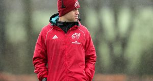 Munster  head coach Johann van Graan has made seven changes to the squad. Photograph:  Laszlo Geczo/Inpho