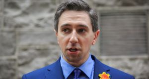 Minister for Health Simon Harris:  'I think we really need to call on the anti-vaxxers to cop on. We need to call them out.' Photograph:   Gareth Chaney/Collins